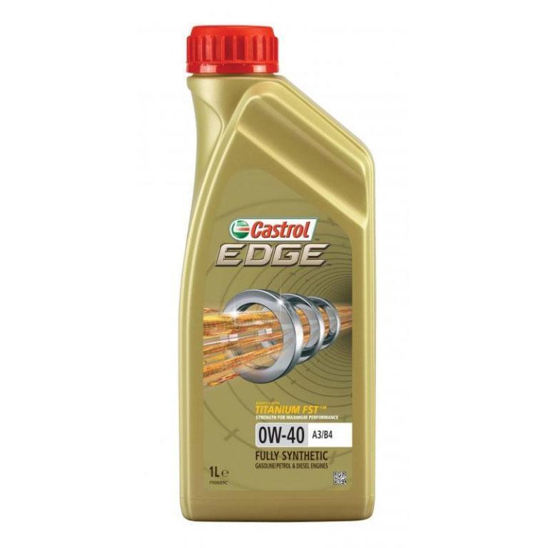 Масло моторное CASTROL EDGE 0W-40 A3/B4