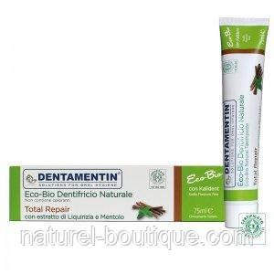 Зубная паста Dentamentin Еко-Біо полностью востонавливающая  25 мл