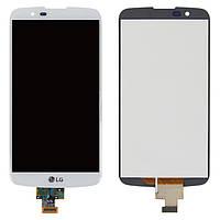 Дисплейный модуль (экран и сенсор) для LG K10 K410, K420N, K430DS, K430DSF, K430DSY, без микросхемы, оригинал