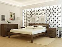 Деревянная кровать Frankfurt