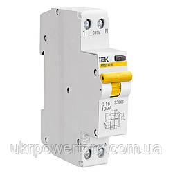 Автоматический выключатель ВА47-29 1P 16 А х-ка C