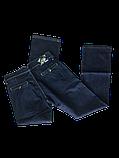 Батальные джинсы женские ОМАТ 9556, фото 3