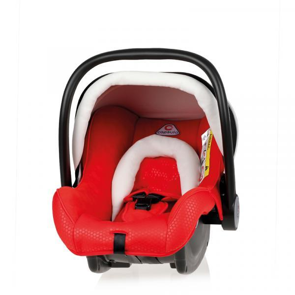 Детское автокресло Capsula BB0+ / Mars Red