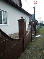 Плитка гранитная с фасками для облицовки фасада