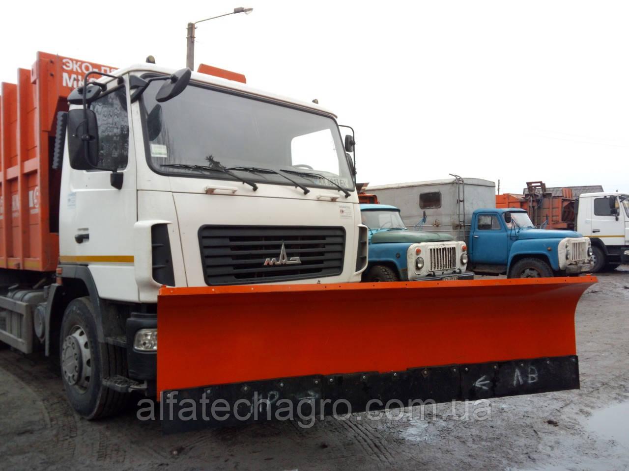 Отвалы к грузовым автомобилям