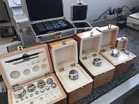 Разновесы лабораторные, наборы гирь калибровочные для весов, фото 1