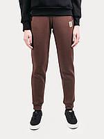 Спортивные штаны женские зимние W DUS Urban Planet коричневые XS S