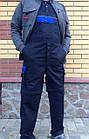"Комбинезон Modyf ""Черный с синим""Wurth, фото 4"