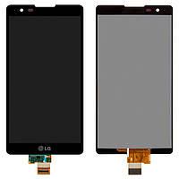 Дисплей для LG X Power K220DS (LS755, US610), модуль в сборе (экран и сенсор), черный, оригинал
