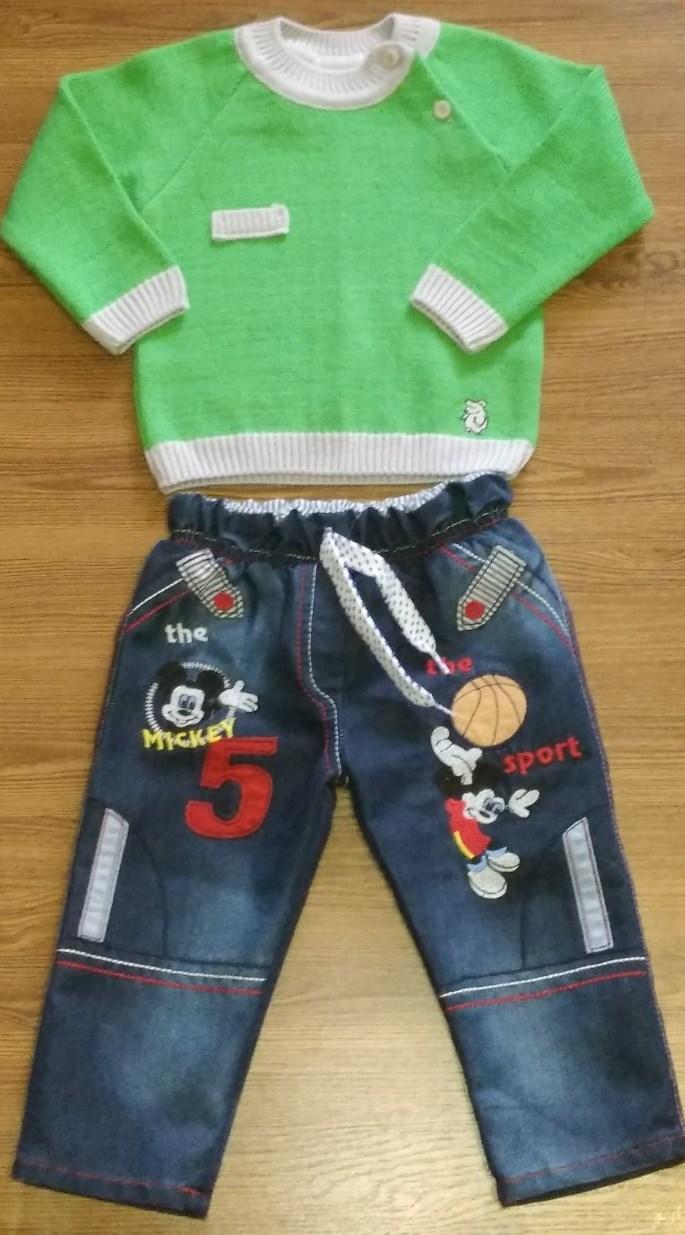 "Детский костюм ""Микки"" на мальчика (86, 92 см)"