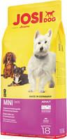 Сухой корм Josi Dog (Джози Дог) Mini  18 кг для мелких пород собак