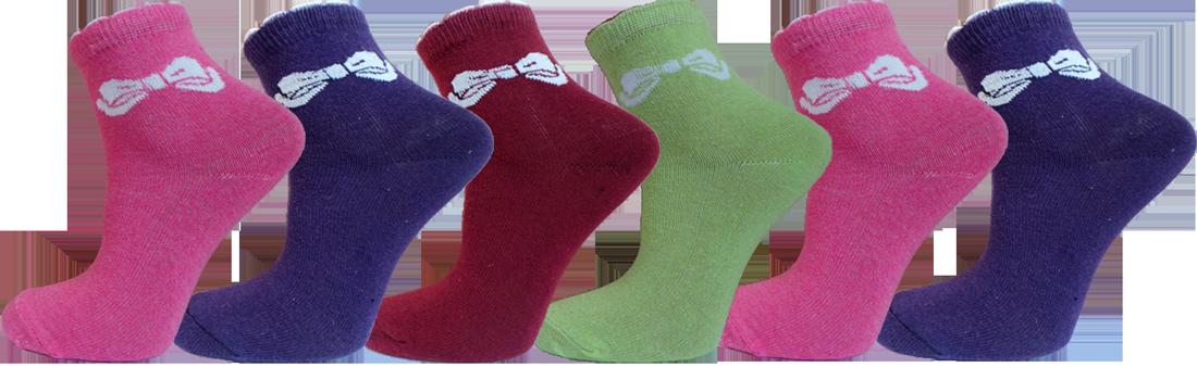 """Дитячі шкарпетки бант""""lomani"""""""