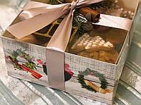 Коробка з прозорою кришкою ПВХ 160*160*80 без вставки, фото 1