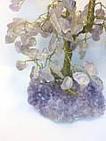 Деревья из камней | дерево декоративное из аметиста L | искусственное дерево, фото 2
