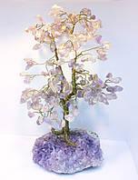 Деревья из камней | дерево декоративное из аметиста L | искусственное дерево