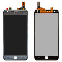Дисплей для LG X Cam F690S, модуль в сборе (экран и сенсор), серый, оригинал