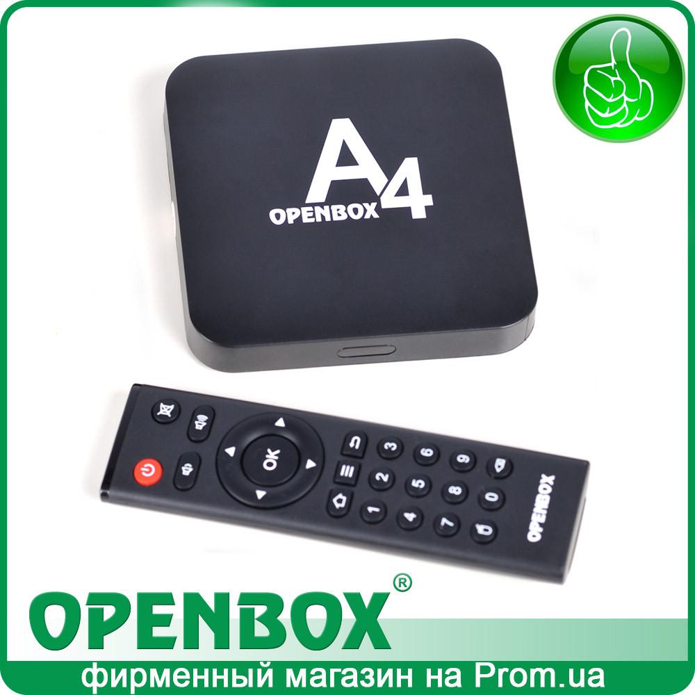 IPTV Android медиаплеер Openbox A4