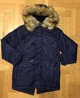 Куртка парка для мальчика р-ры  7 -8, 14-15 лет , Венгрия F&D M-508