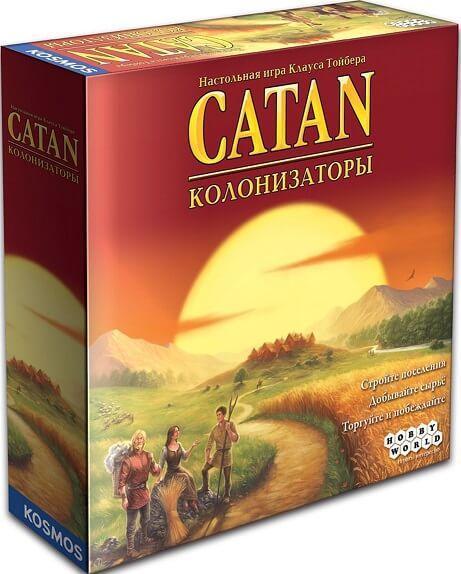 Колонизаторы Catan настольная игра