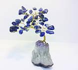 Дерева з каменю | декоративне дерево з лазуриту М | сувенірні дерева, фото 3