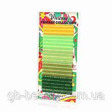 """Fantasy Мікс """"Зелений рай"""" 5 кольорів, 0,1 C 12, (20 ліній)"""