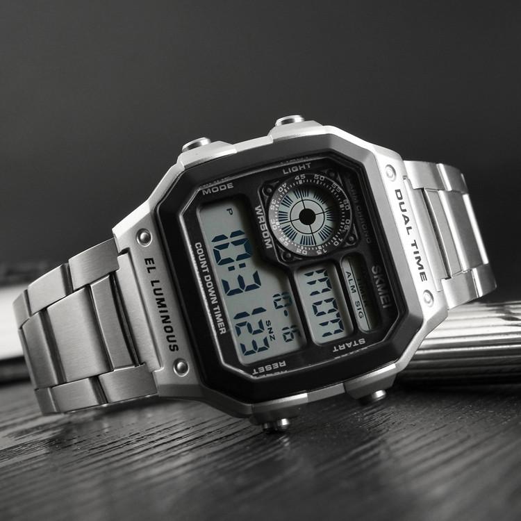 Skmei  1335 S  ripple серебристые мужские  часы