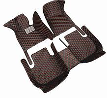 3D коврики для BMW X3 (европеец) кожаные с высокими бортиками