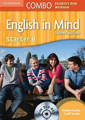 English in Mind Combo 2nd Edition Starter B SB+WB with DVD-ROM