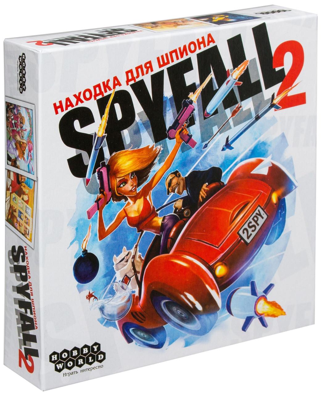 Находка для шпиона 2 (Spyfall 2) настольная игра
