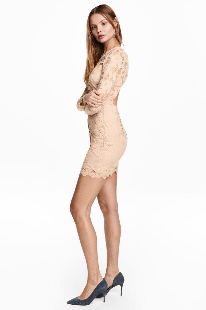 5760b6c921b Женское платье H M кружево р S новое - Outlet Brend Lux в Борисполе