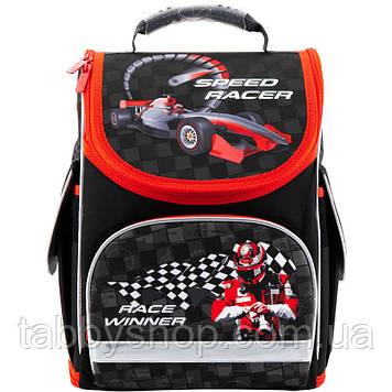 Ранец школьный ортопедический с жестким каркасом KITE Speed racer 500