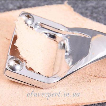 Нож для шерфования, утоньшения кожи №2, фото 2