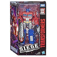 Hasbro Takara Transformers War for Cybertron: Siege Optimus Prime, Трансформер Оптимус Прайм, Война за Кибертр