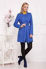 Женское демисезонное пальто красного цвета, размер:42,48, фото 2