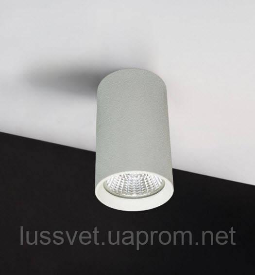 Светильник накладной цилиндр Mycom 7W черный белый