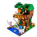 """Конструктор Lepin 18009 ( Lego Minecraft 21125 ) """"Домик на дереве в джунглях"""" 406 дет., фото 2"""