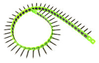 Шуруп гипсокартонный двухзаходный (в ленте) 3,5х25 (1000шт/уп)