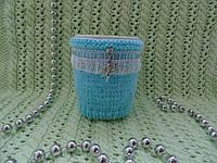 Грелка для чашки,вязанная грелка для чашки,чехол для чашки, фото 1