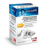 Тонометр Microlife BP N1 Basic полуавтоматический на плечо гарантия 5 лет