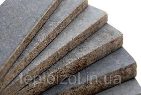 Цементно-стружкова плита ЦСП 1600х1200х8мм