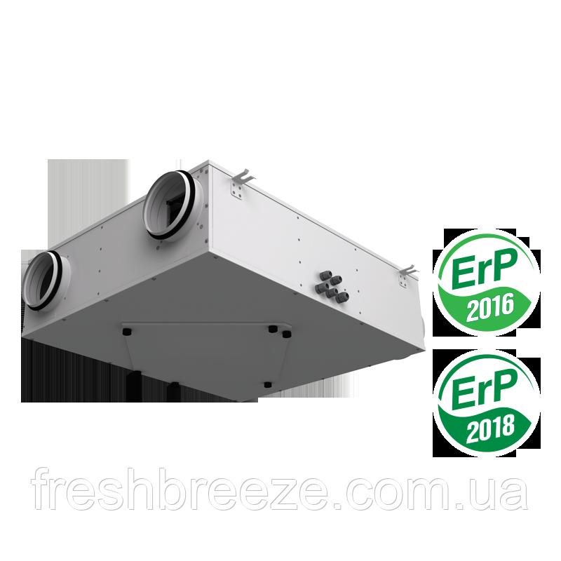 Приточно-вытяжная установка с рекуперацией тепла Vents ВУЭ 250 П3Б ЕС А14