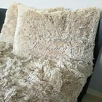 Чехол для подушки травка  50х70 см., цвет капучино