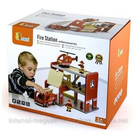 Ігровий набір Пожежна станція Viga Toys, фото 2