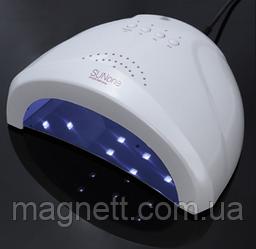 Лампа для сушіння нігтів SUNno1 Sunone біла 48Вт