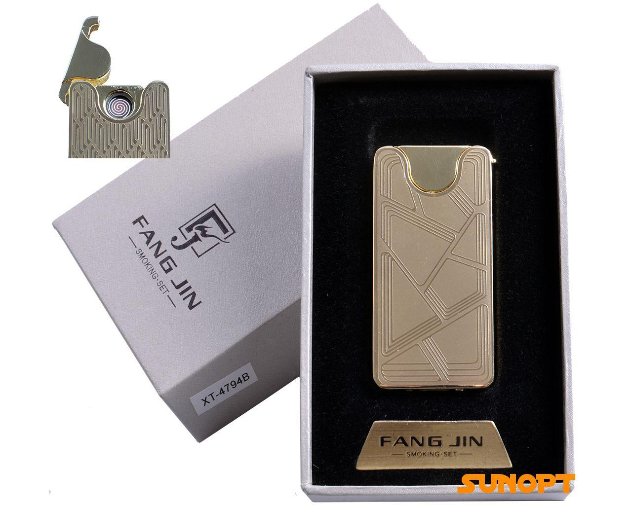 "USB зажигалка ""Абстракция"" (спираль накаливания) №4794B-1"