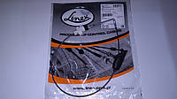 LINEX Трос ручника (центральный) VW T-4 96- (квадратный штуцер)