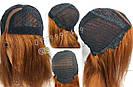 Парик рыжий длинный🔥 ровный из натуральных волос, фото 8