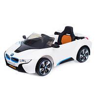 Детский электромобиль BMW i8 2 двигателя 35W