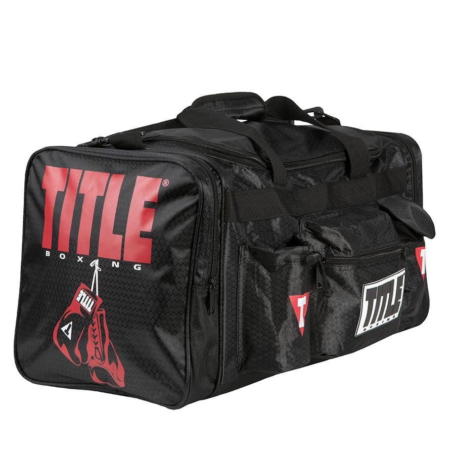Сумка TITLE Boxing Deluxe Черная