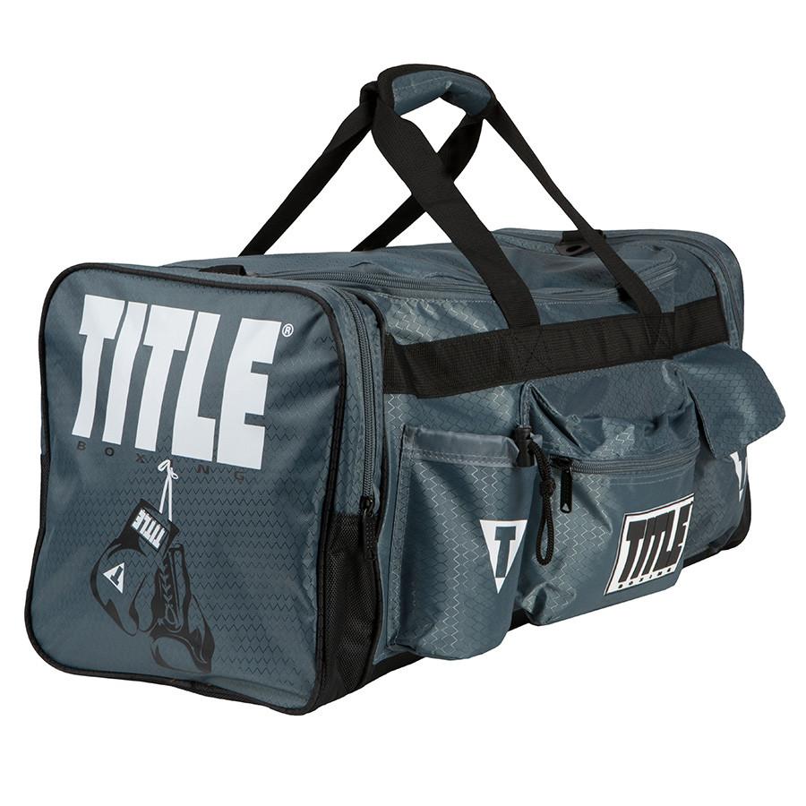 Сумка TITLE Boxing Deluxe Серая